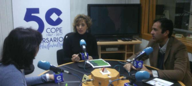 Nos han entrevistado en Cadena COPE, hemos presentado la Fundación Amedis.