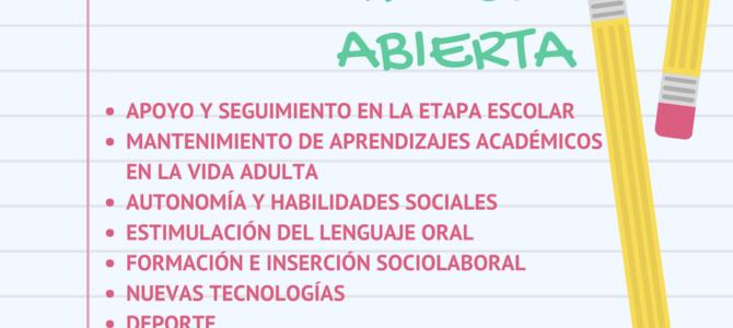Matrícula Abierta – Curso 2018-2019