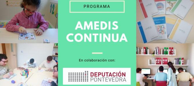 """""""AMEDIS CONTINUA"""" Y DIPUTACIÓN DE PONTEVEDRA."""